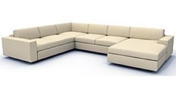 custom made leather lounge