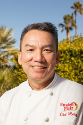 Chef Heng of Fusion Flair Catering
