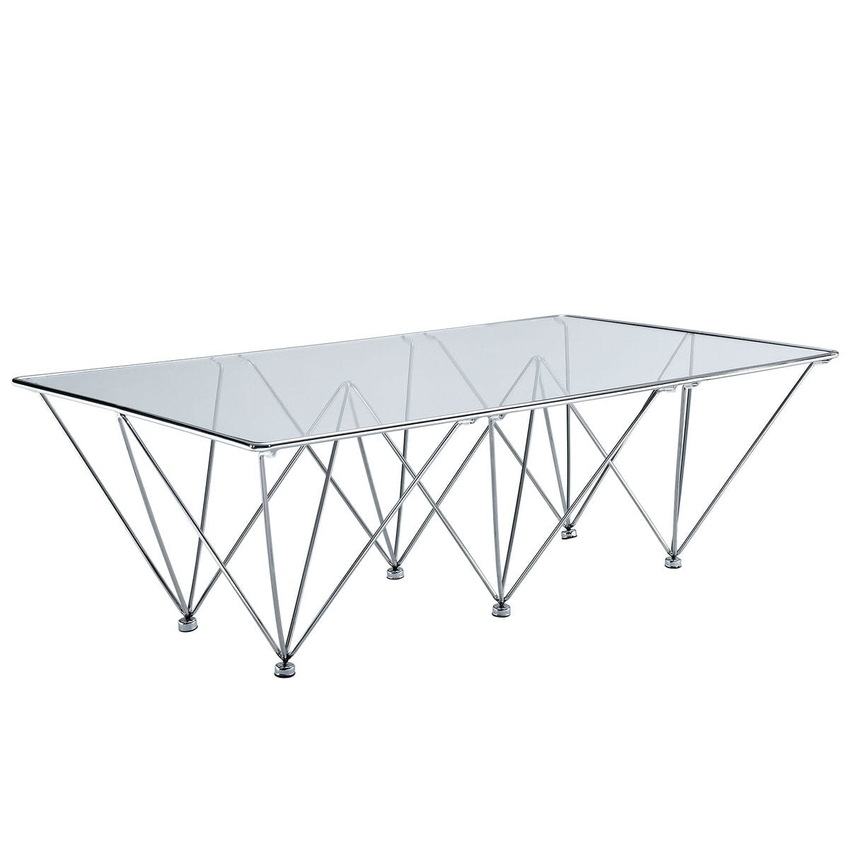 Upscale Glass Prism Rectangle Coffee Table Clear By Living Rectangle Coffee Table Dimensions Rectangle Coffee Table houzz-03 Rectangle Coffee Table