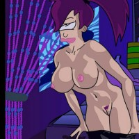 Sexy Leela Turanga is taking off her pants - this is gonna be long and fun night...