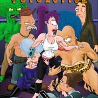Futurotica [English]: Watch your favorite Futurama characters just fuck each other!