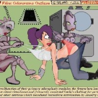 leele turang is getting her bra and pantiespulled by lesbian robots and shes enjoying it!