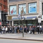 Massive lines formed throughout New York as people try to get to work