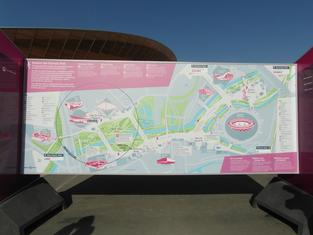 London's Olympic Park. Source: .Martin./ flickr