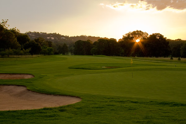 Its golf courses (Royal Johannesburg)
