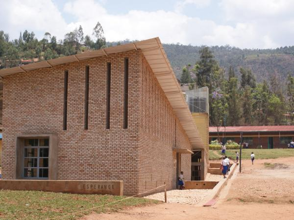 Kimisagara Football for Hope Centre, Rwanda. Image Courtesy of Open Architecture Network