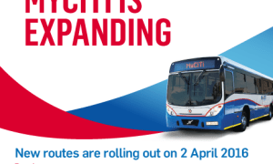 The new 261 Omuramba – Salt River – Adderley route will be deviated along Racecourse and Koeberg Roads and some stops will not be operational until further notice.
