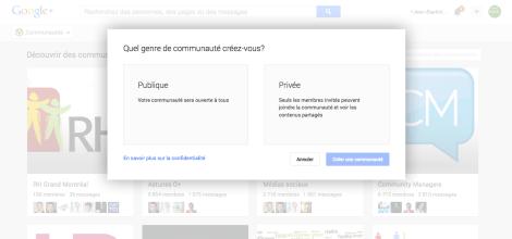 Google+ Communauté