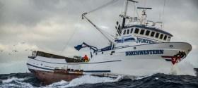 F/V Northwestern on the Bering Sea