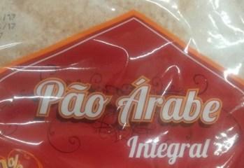Pão Árabe Integral Baalbek