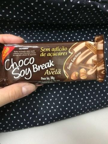 Choco Soy Break Avelã Olvebra
