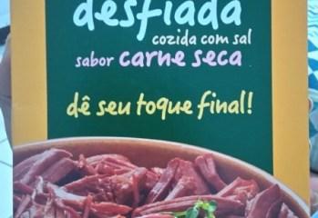 Carne Desfiada Bovina Curada Sabor Carne Seca Vapza