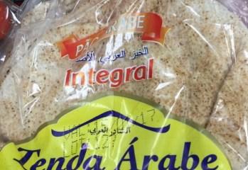Pão Árabe Integral Tenda Árabe