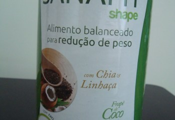 Sanafit Shape com Chia e Linhaça Frapê de Coco Crocante Sanavita