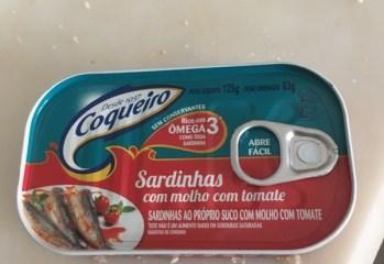 Sardinhas com Molho de Tomate Coqueiro