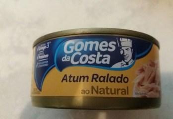 Atum Ralado ao Natural Gomes da Costa