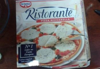 Pizza Mozzarella Ristorante Dr Oetker
