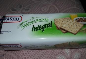Biscoito Sublime Cracker Integral Panco