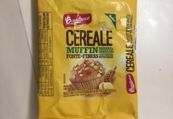 Bolo Integral de Banana com Amêndoas Muffin Cereale Bauducco