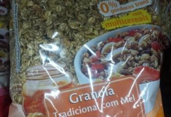 Granola Tradicional com Mel Qualitá