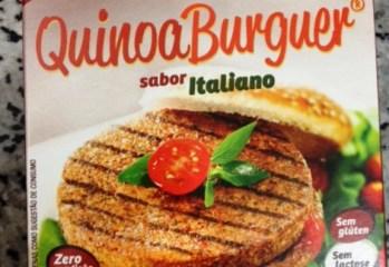 QuinoaBurger Sabor Italiano Manioc