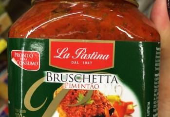 Pasta de Pimentão Bruschetta Pimentão La Pastina