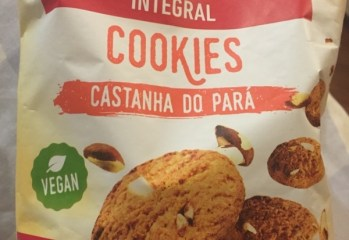 Cookies Integrais Castanha do Pará Jasmine