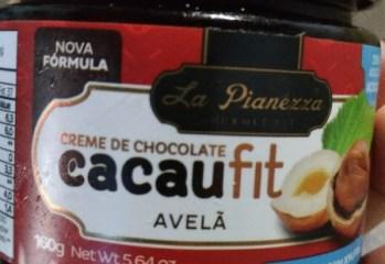Creme de Chocolate com Avelã Cacaufit La Pianezza