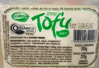 Tofu Soft Orgânico Ecobras