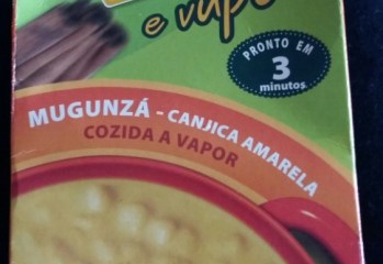 Canjica Amarela Mugunzá Vapza