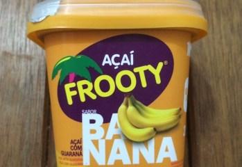 Açaí sabor Banana Frooty
