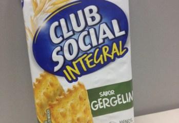 Biscoito Integral sabor Gergelim Club Social