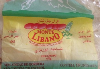 Pão Árabe Monte Libano