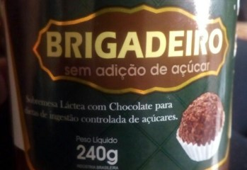Brigadeiro Sem Adição de Açúcar Delakasa