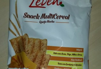 Snack Multicereal Integral Queijo Nacho Leven