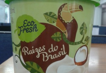 Creme de Tapioca com Coco Raízes do Brasil Eco Fresh