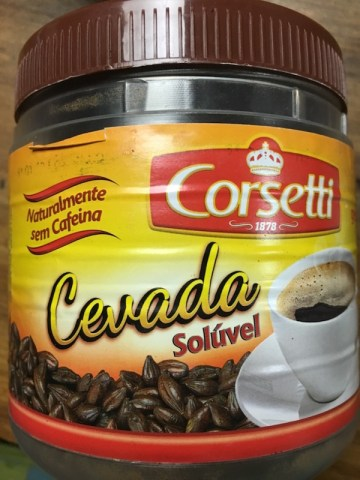 Cevada Solúvel Corsetti