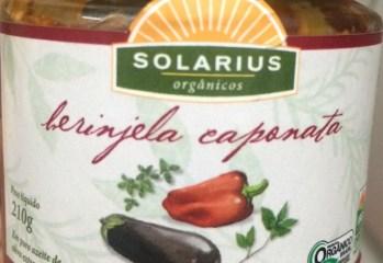 Berinjela Caponata Orgânica Solarius