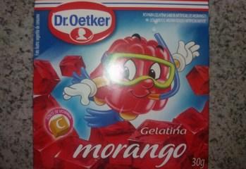 Gelatina Morango Dr. Oetkerfrente