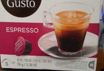 Cápsula Espresso Dolce Gusto Nescafé Nestlé
