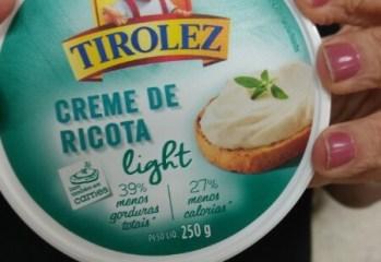 Creme de Ricota Light Tirolez