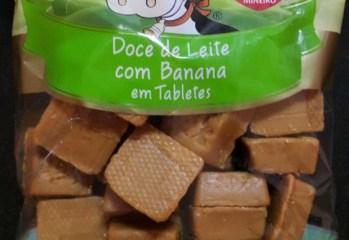 Doce de Leite com Banana em Tabletes Portão de Cambuí
