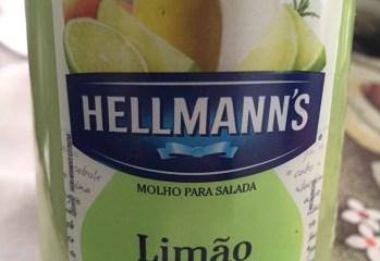 Molho para Salada Limão com Alecrim Hellmanns