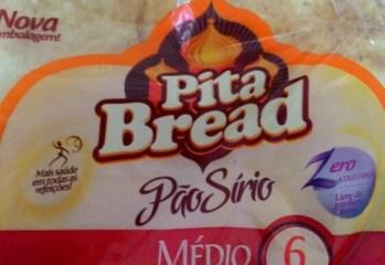 Pão Sírio Médio Tradicional Pita Bread