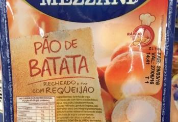 Pão de Batata Recheado com Requeijão Mezzani