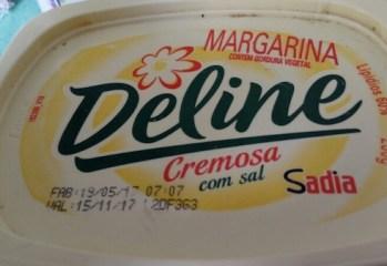 Margarina Cremosa com Sal Deline Sadia