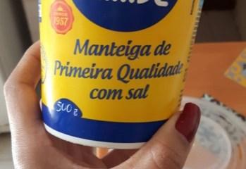 Manteiga de Primeira Qualidade com Sal Itambé