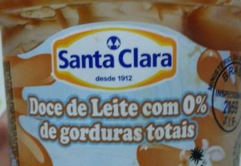 Doce de Leite Zero Gordura Totais Santa Clara