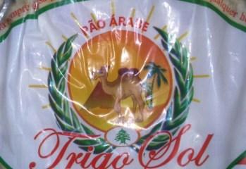 Pão Árabe Trigo Sol