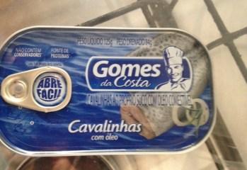 Cavalinhas com Óleo Gomes da Costa